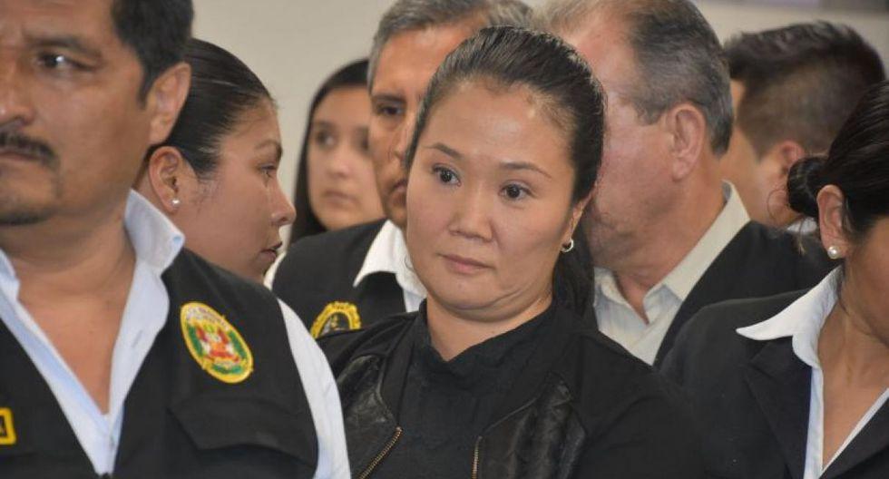 Keiko Fujimori cumple prisión preventiva por los supuestos aportes de campaña que habría recibido de Odebrecht. (Foto: GEC)