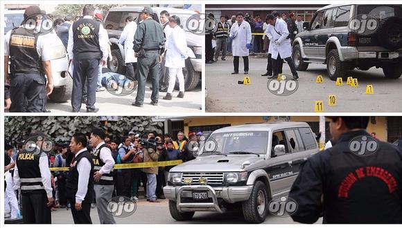 Puente Piedra: asesinan a hombre dentro de su carro por tráfico de terrenos (VIDEO)