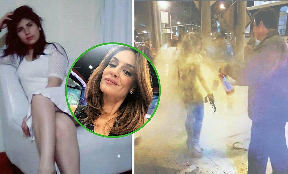 El bello gesto de Mávila Huertas con Eyvi Ágreda, joven que fue quemada en bus