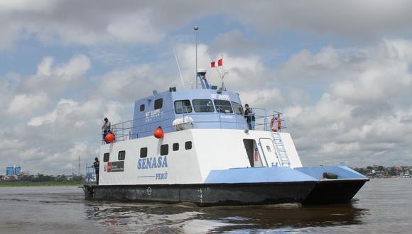 Loreto: Embarcación del Senasa navegará 15 días y llevará sanidad agraria a comunidades nativas (Foto: Senasa)