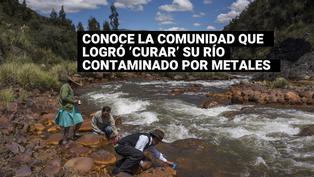 Comunidad campesinalogró 'curar' su río contaminado por metales