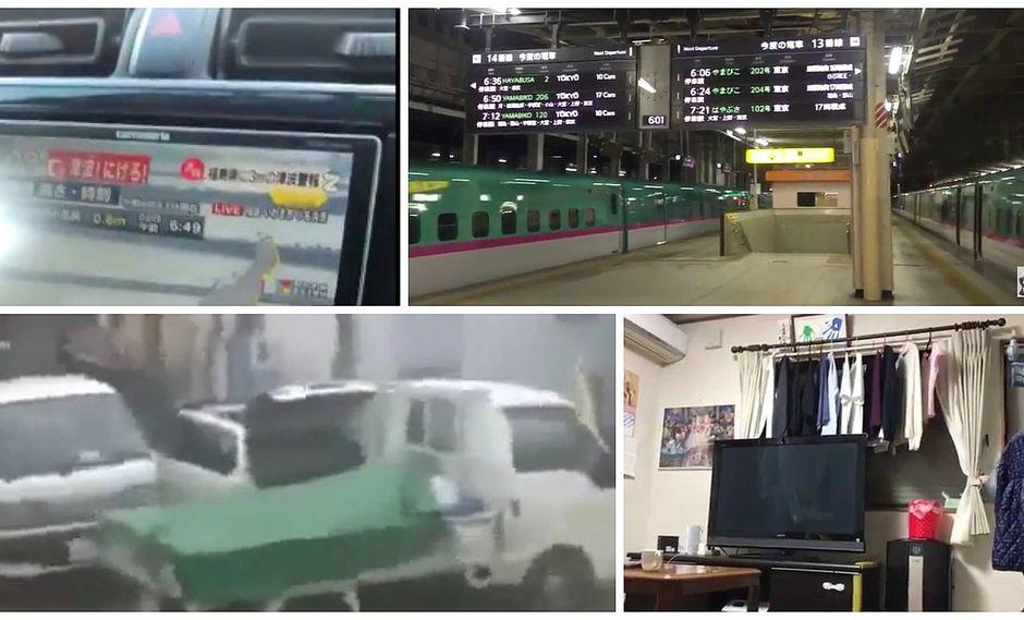 ¡Fuerte! Estos son los más terribles videos del terremoto en Japón