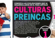 Culturas preíncas: nueva colección educativa de Diario OJO se entrega gratis desde MAÑANA
