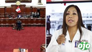 """Congresista pensó que su micrófono estaba apagado y 'raja' de Cecilia García: """"Está loca esa mujer"""""""