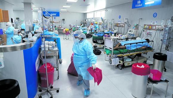 Junín: se reportaron 514 emergencias domiciliarias por coronavirus durante un mes (Foto referencial: GEC)