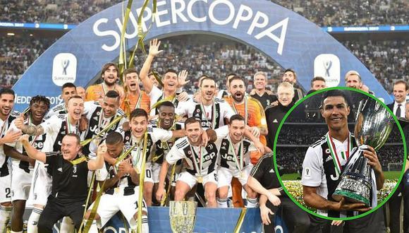 Juventus campeona por octava vez seguida la Seria A de la mano de Cristiano Ronaldo
