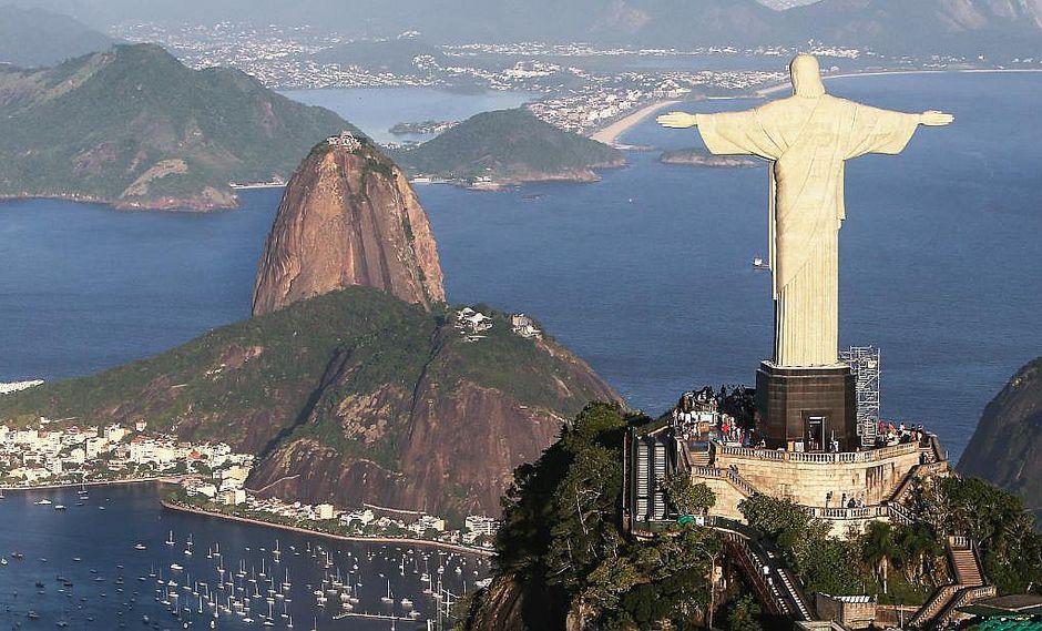 Corazón del Cristo Redentor palpita para alertar sobre riesgos de diabetes