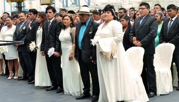 Arequipa: A partir de la próxima semana la municipalidad provincial de Arequipa celebrará matrimonios civiles virtuales. (foto referencial)