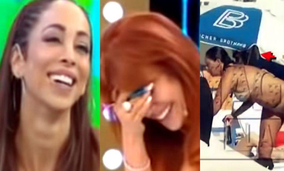 Magaly Medina y Olinda Castañeda criticaron figura de Tilsa Lozano