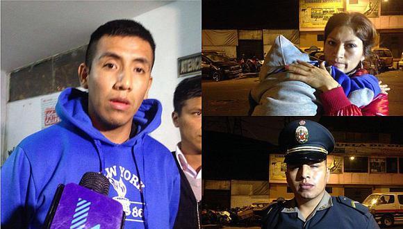 Los Olivos: Chef golpea a su pareja y rompe uniforme de PNP para evitar detención