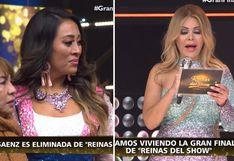 "Cathy Sáenz llora al ser eliminada de ""Reinas del Show""│VIDEO"