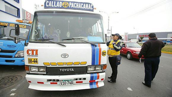 Municipalidad de Lima retira otras 100 unidades en Javier Prado