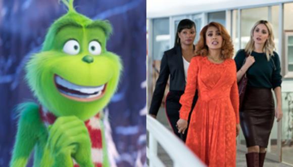 """""""El Grinch"""" y """"Socias en Guerra"""" llegan a la cartelera de Fox Premium. (Foto: Universal Pictures/Paramount Pictures)"""