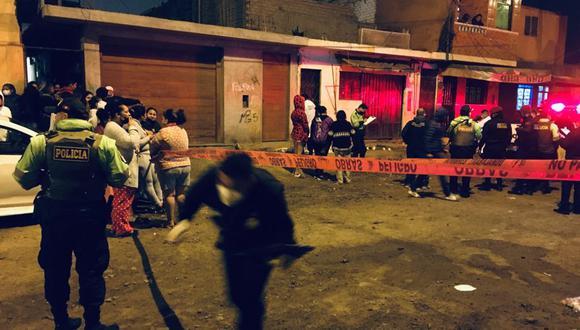 El doble asesinato ocurrió en la cuadra 4 del jirón Marco Polo, en el Callao. (Foto: César Grados/@photo.gec)