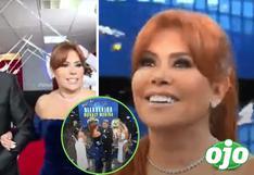 Magaly queda sorprendida al ser presentada por todo lo alto en programa de Andrés Hurtado | VIDEO