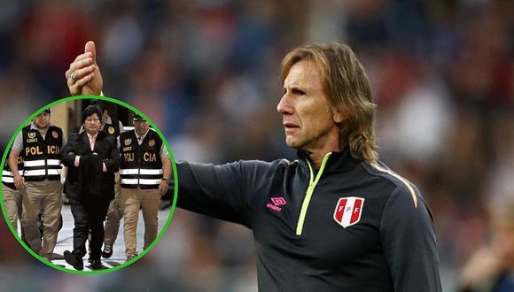 Detención de Edwin Oviedo no afectará labor de Ricardo Gareca en la selección peruana