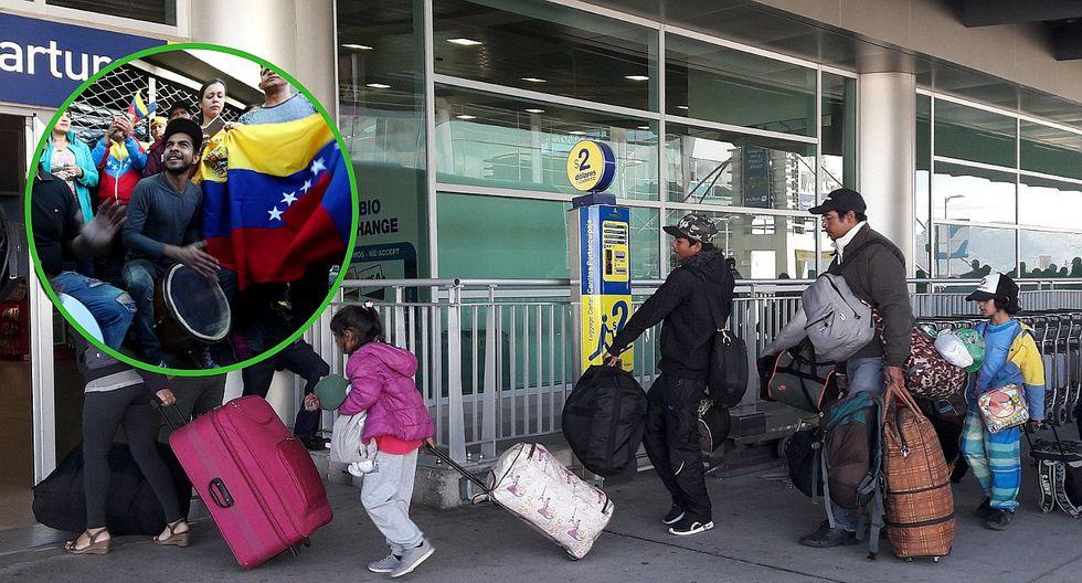 Venezuela manda aviones a Ecuador para recoger a compatriotas