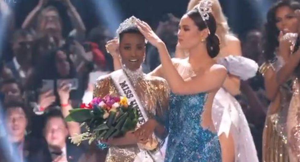 Miss Sudáfrica se llevó el Miss Universo 2019. (Imagen: MissUniverse)