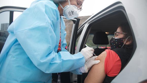 La vacunación avanza en todo el país. (Foto: Archivo GEC)