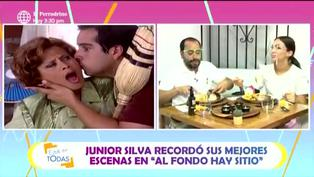 "Junior Silva ""Pollo gordo"": así nació el apodo del actor"