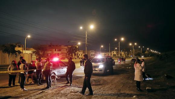 Israel Cárdenas fue interceptado por dos sujetos a diez cuadras de su vivienda. (Foto: César Grados /@photo.gec)