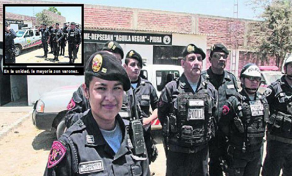 Maryluz Ordóñez, la jefa de la Unidad Águilas Negras, dispuesta a asumir retos en Piura