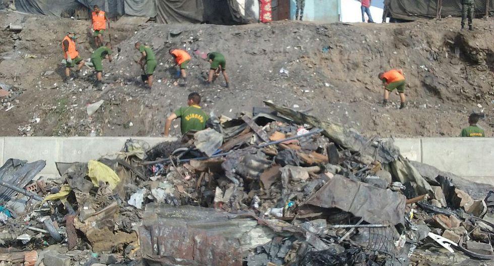 Cantagallo: Ejército presta ayuda para remover escombros (VIDEO)
