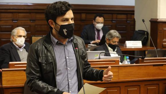 Daniel Olivares señaló que consume marihuana hace 20 años. (Foto: Congreso)