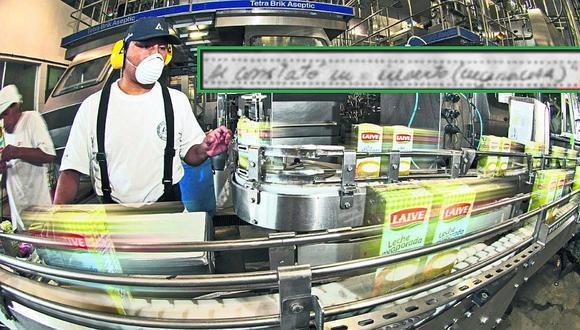 Laive: Digesa suspende producción en planta por operar en condiciones insalubres
