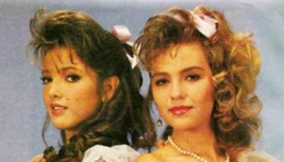 """Adela Noriega y Thalía en """"Quinceañera"""" (Foto: Televisa)"""