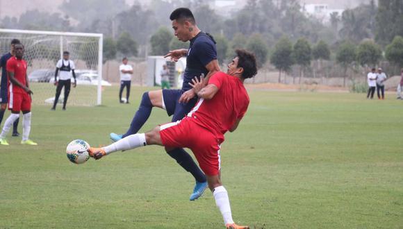 Alianza Lima enfrentó a San Martín en Cieneguilla. (Foto: @Club_USMP)