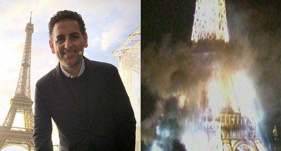 Juan Diego Flórez se presentó en la Torre Eiffel minutos antes de incendio