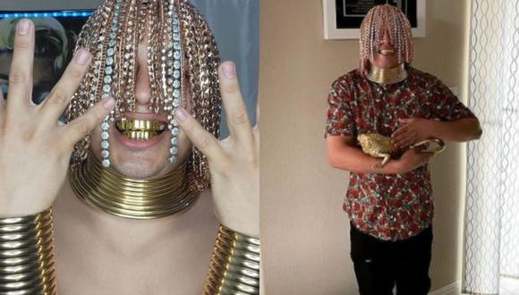 """El rapero asegura que se colocó los implantes para ser """"original"""". (Foto: Composición)"""