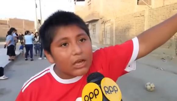"""Niño trujillano que recibió ayuda de millonario árabe: """"Estoy decepcionado de Vizcarra""""│VIDEO"""
