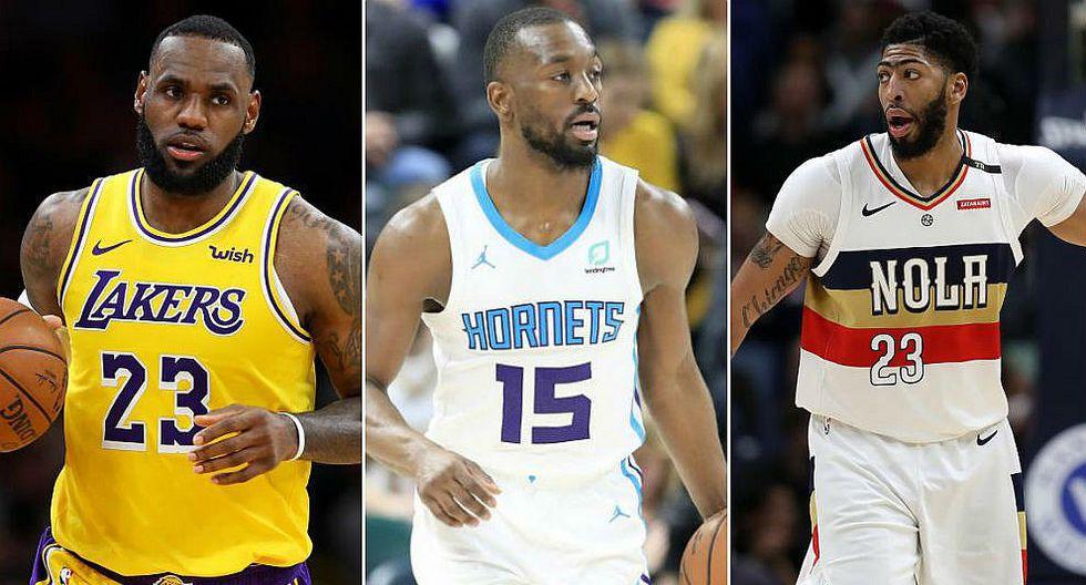 NBA: Lakers suman a Anthony Davis y buscan fichar a Kemba Walker