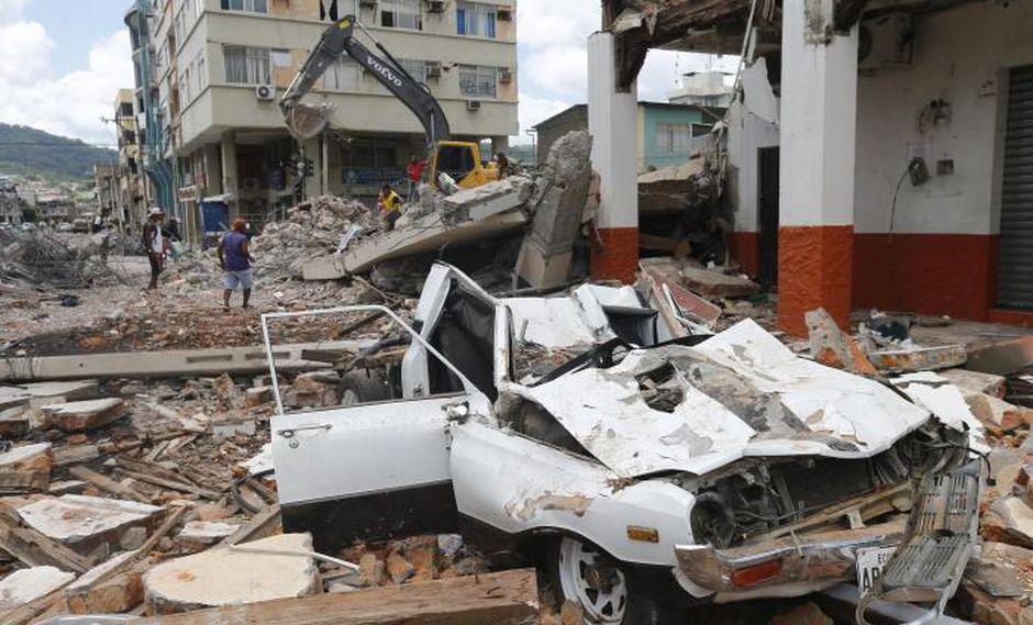 Imagen referencial. Terremoto en Ecuador - Gonzalo Córdova