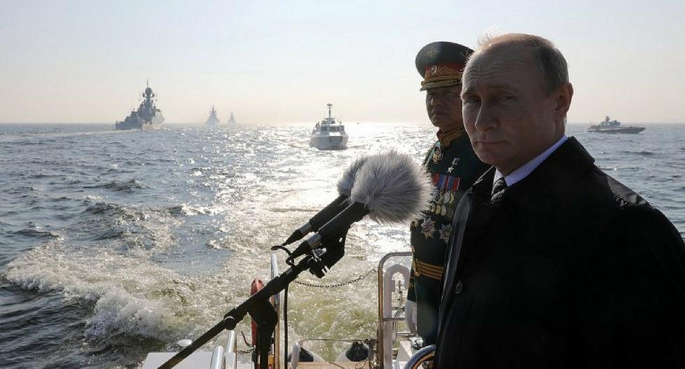 El desfile militar del presidente ruso Vladimir Putin (FOTOS)