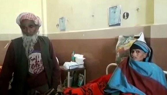 Abuelito de 80 años y su mujer de 65 logran ser padres (FOTOS)