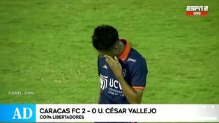 Con Beto Da Silva en cancha, César Vallejo fue eliminado de la Copa Libertadores