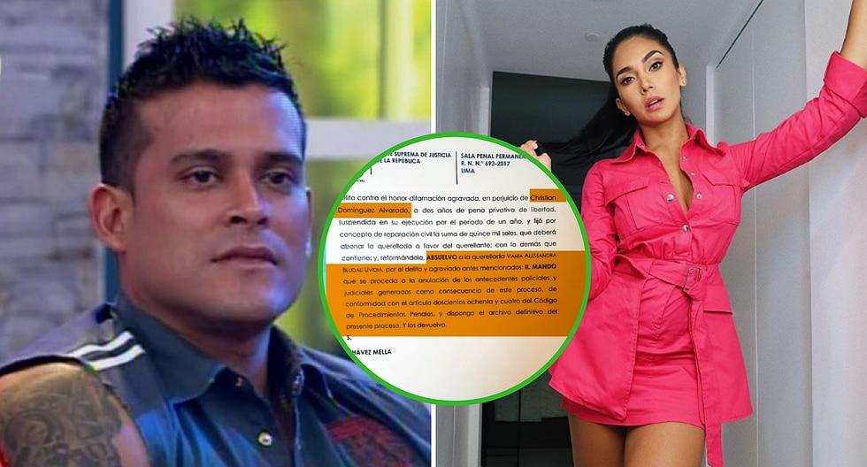 Vania Bludau gana juicio por difamación a su ex Christian Domínguez