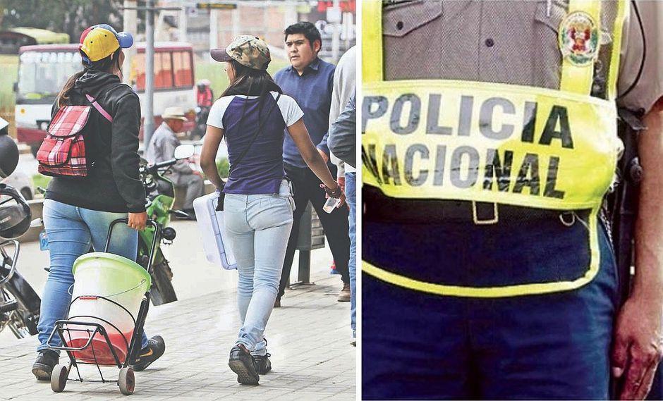 Policías son acusados de pedir números de celular a venezolanas que intervenían