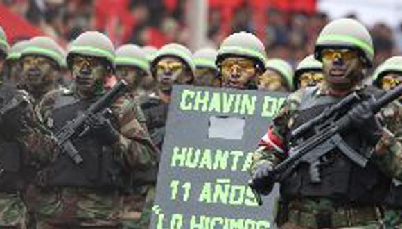 "Ollanta Humala: ""Ningún comando de Chavín de Huántar irá preso"""