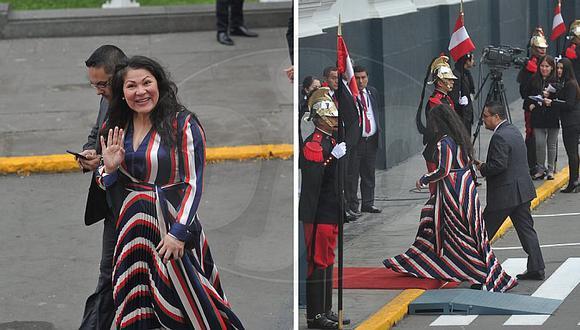 Fiesta Patrias: El look de Yesenia Ponce por 28 de Julio | FOTOS Y VIDEO