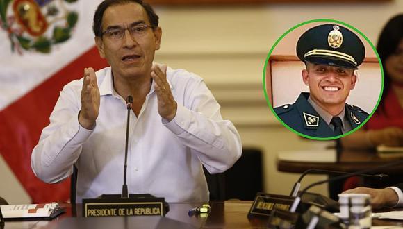 Martín Vizcarra feliz por libertad del policía Elvis Miranda