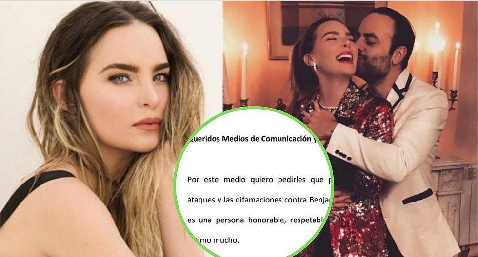 Belinda desmiente hackeo de sus redes y se pronuncia sobre su ahora exnovio