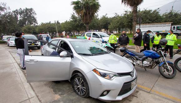 La Policía y Serenazgo le seguían los pasos a los hampones desde hace 15 días. (Foto: Municipalidad de La Molina)