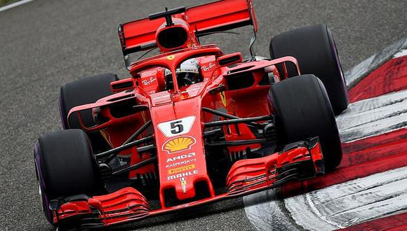 Fórmula 1: Sebastian Vettel parte primero en el Gran Premio de China