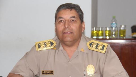 El ministro del Interior, José Elice, indicó que en la próxima semana el comandante Cervantes se reincorporará a sus laborales.  (Foto: GEC)