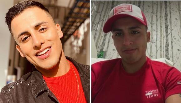 Elías Montalvo terminó internado en una clínica tras sufrir aparatoso accidente en reto de altura. (Composición: Instagram / captura América TV)