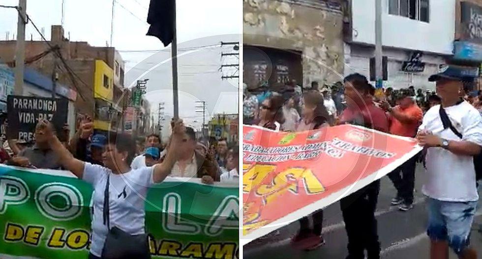 Realizan paro en Barranca por el caso de la niña violada y asesinada (VIDEO)